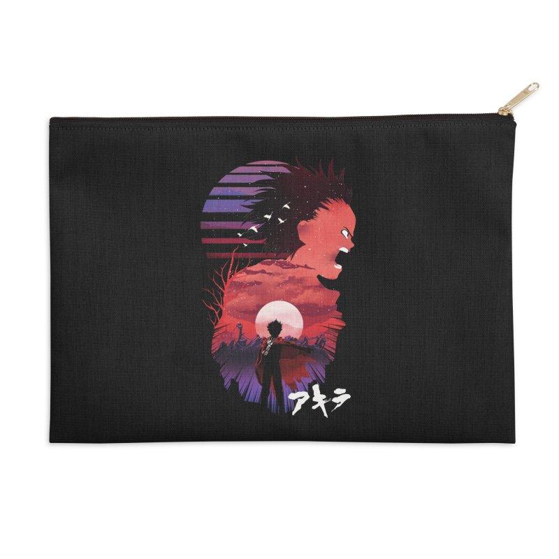 Tetsuo Sunset Accessories Zip Pouch by dandingeroz's Artist Shop