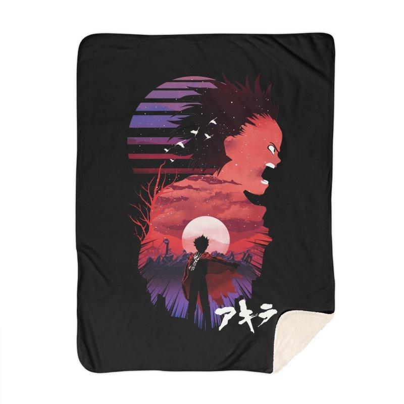Tetsuo Sunset Home Blanket by dandingeroz's Artist Shop