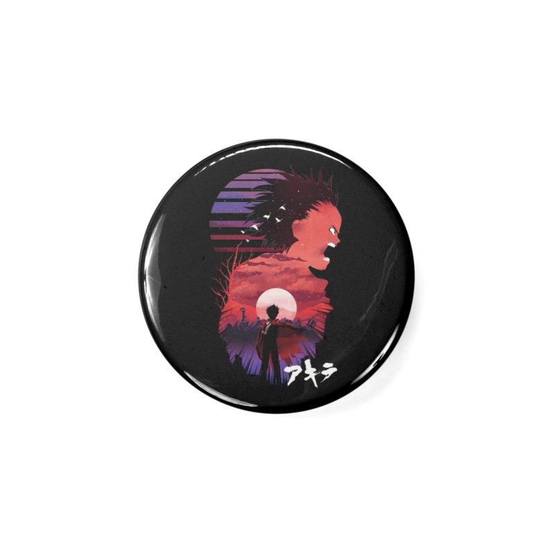 Tetsuo Sunset Accessories Button by dandingeroz's Artist Shop