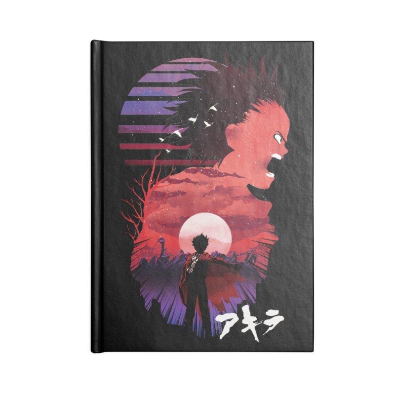 Tetsuo Sunset Accessories Notebook by dandingeroz's Artist Shop