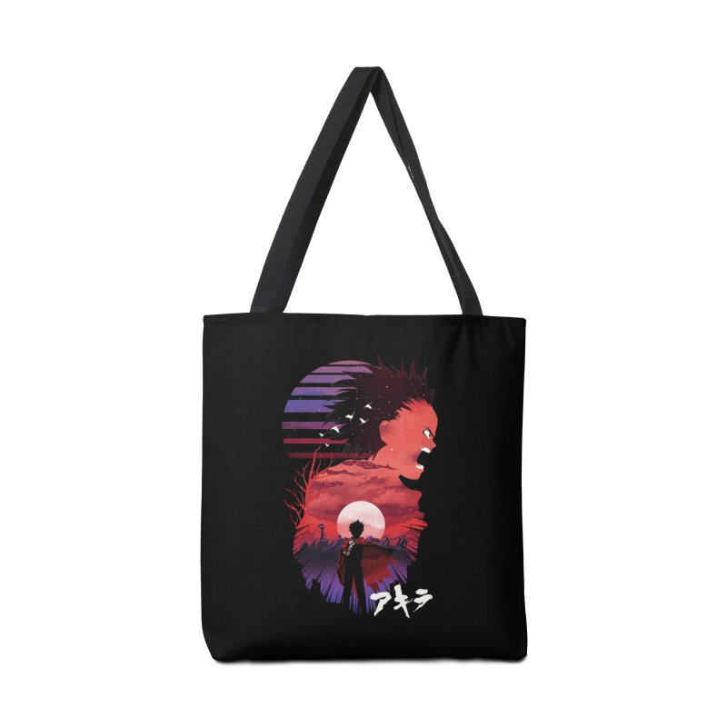 Tetsuo Sunset Accessories Bag by dandingeroz's Artist Shop