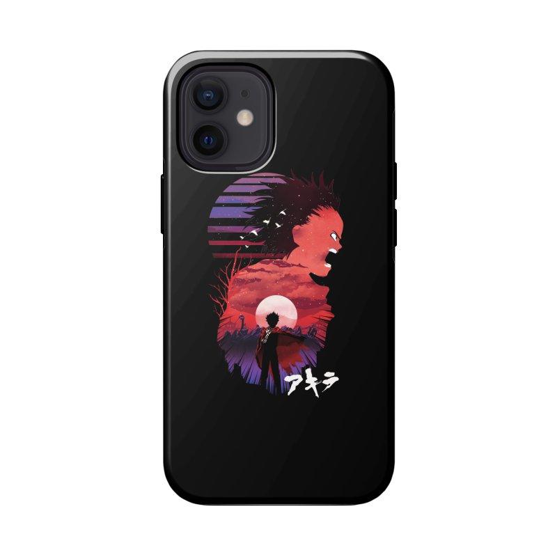 Tetsuo Sunset Accessories Phone Case by dandingeroz's Artist Shop