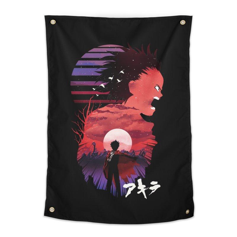 Tetsuo Sunset Home Tapestry by dandingeroz's Artist Shop