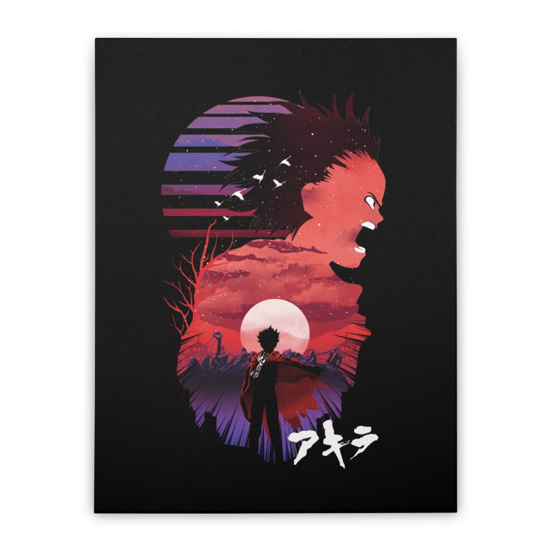 Tetsuo Sunset Home Stretched Canvas by dandingeroz's Artist Shop