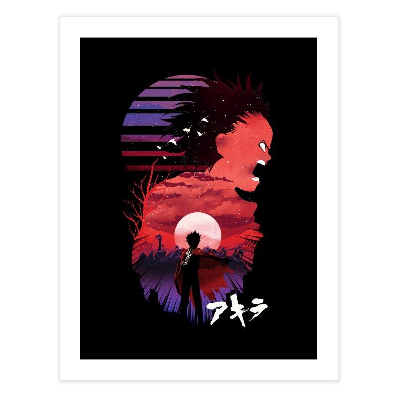 Tetsuo Sunset Home Fine Art Print by dandingeroz's Artist Shop