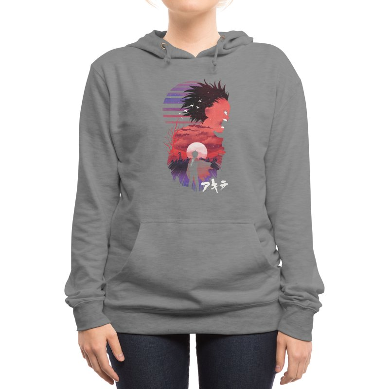 Tetsuo Sunset Women's Pullover Hoody by dandingeroz's Artist Shop