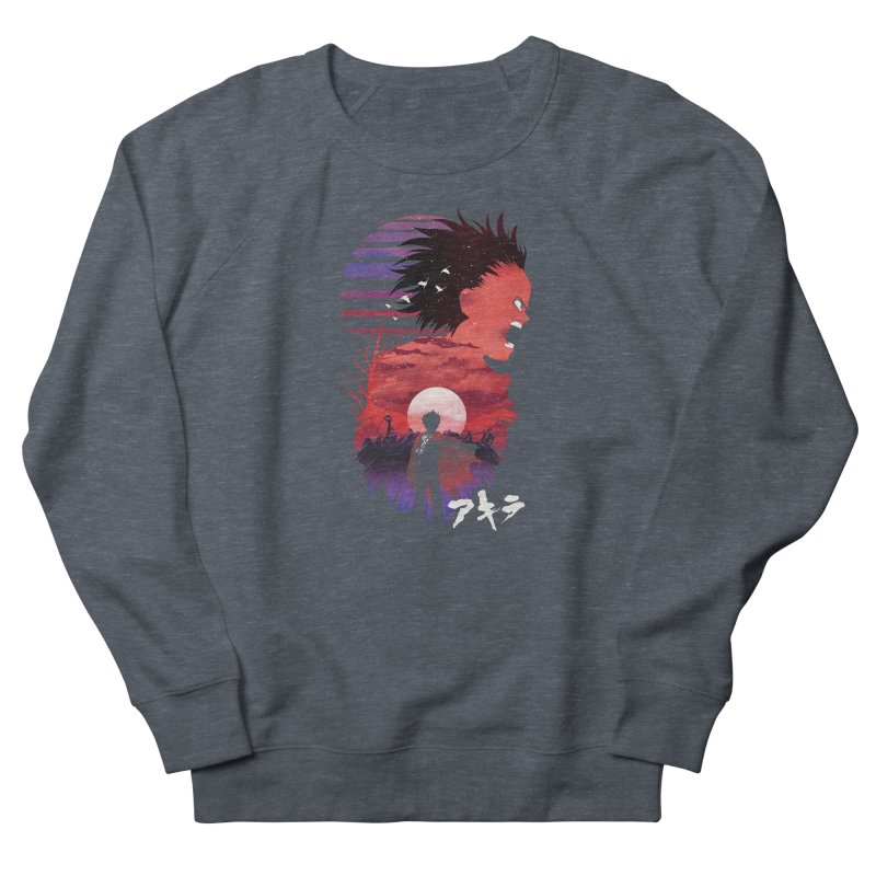 Tetsuo Sunset Men's Sweatshirt by dandingeroz's Artist Shop