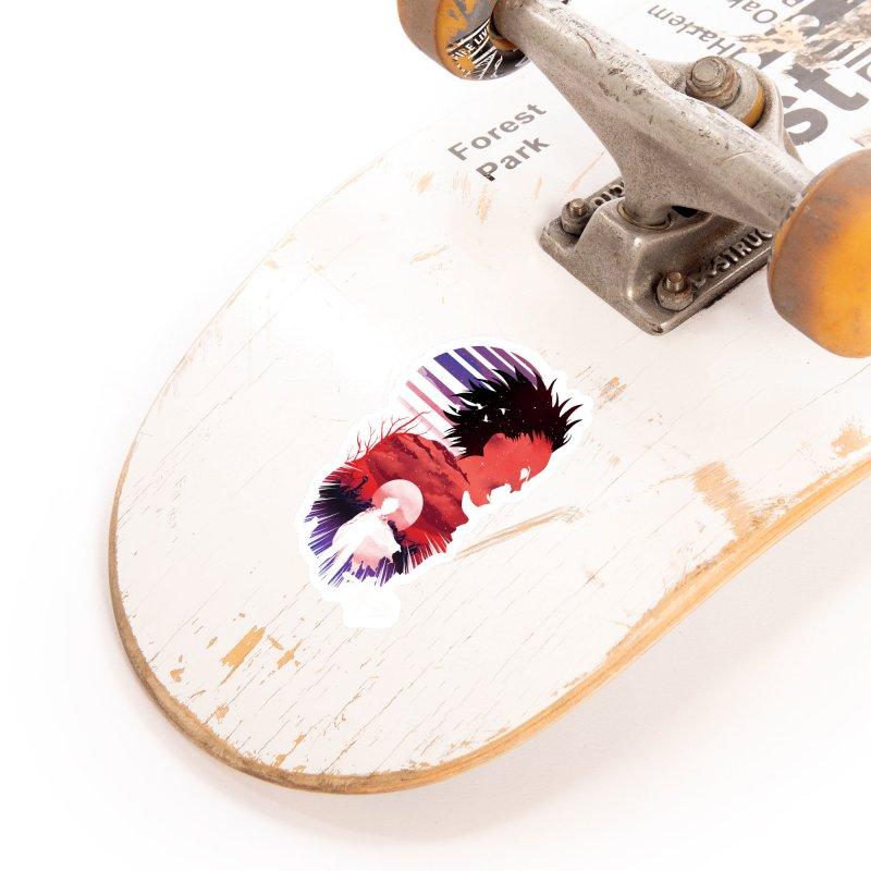 Tetsuo Sunset Accessories Sticker by dandingeroz's Artist Shop