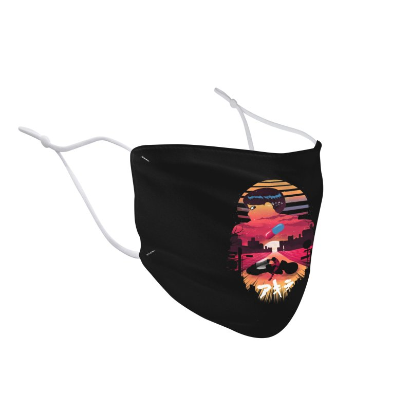 Kaneda Sunset Accessories Face Mask by dandingeroz's Artist Shop