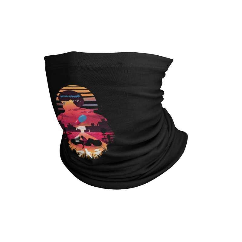 Kaneda Sunset Accessories Neck Gaiter by dandingeroz's Artist Shop