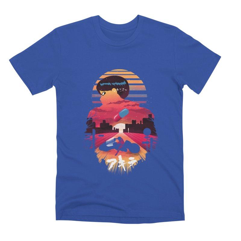 Kaneda Sunset Men's T-Shirt by dandingeroz's Artist Shop