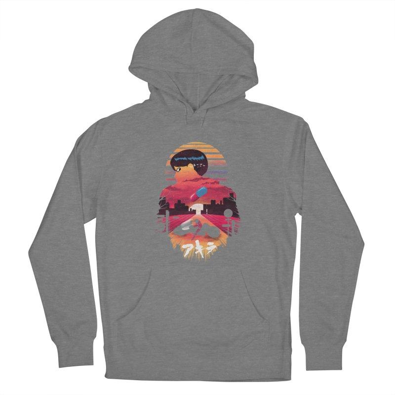 Kaneda Sunset Women's Pullover Hoody by dandingeroz's Artist Shop
