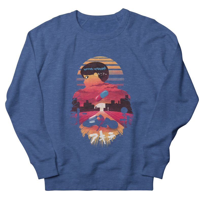 Kaneda Sunset Women's Sweatshirt by dandingeroz's Artist Shop
