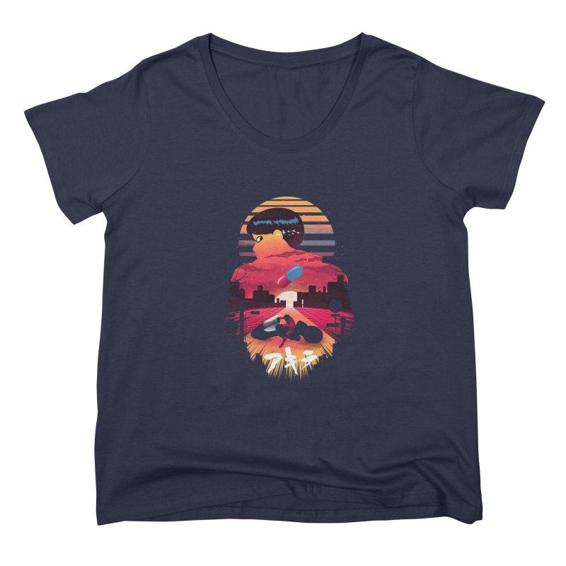 Kaneda Sunset Women's Scoop Neck by dandingeroz's Artist Shop