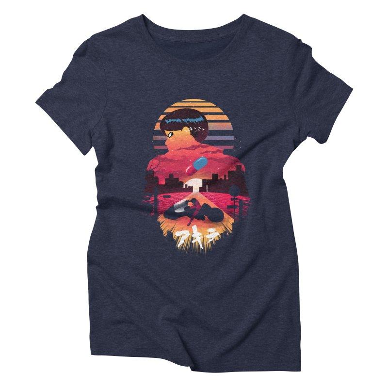 Kaneda Sunset Women's T-Shirt by dandingeroz's Artist Shop