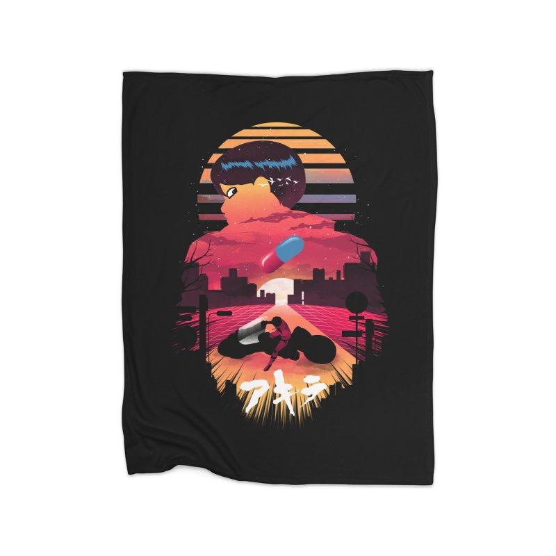Kaneda Sunset Home Blanket by dandingeroz's Artist Shop