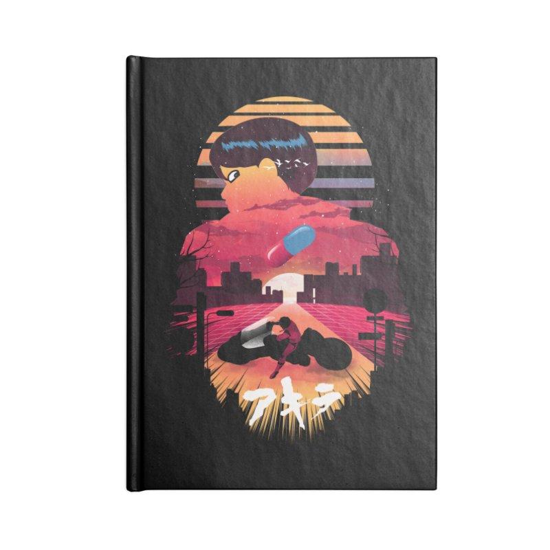 Kaneda Sunset Accessories Notebook by dandingeroz's Artist Shop