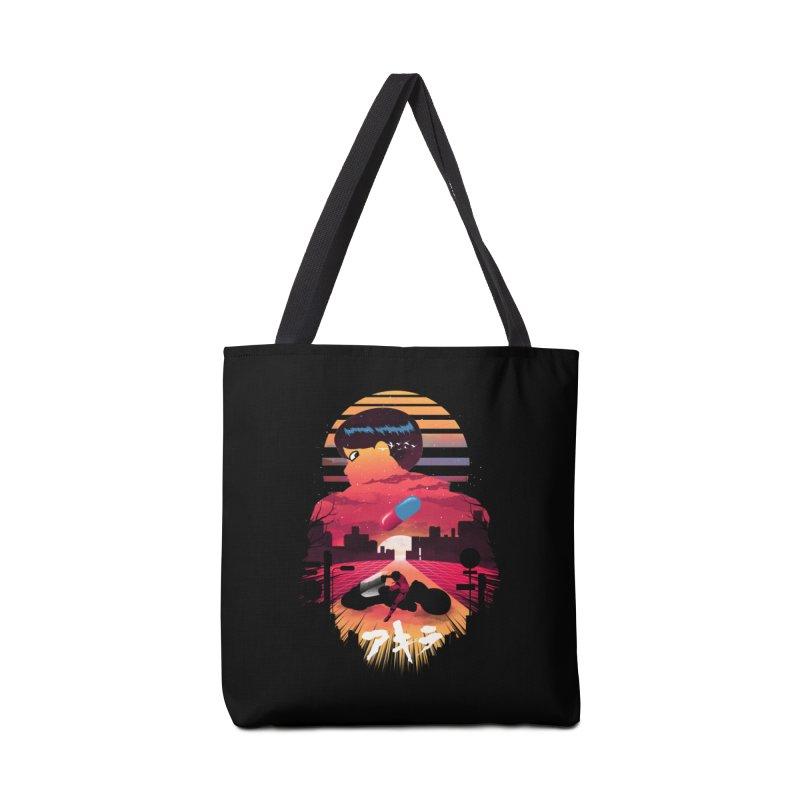 Kaneda Sunset Accessories Bag by dandingeroz's Artist Shop