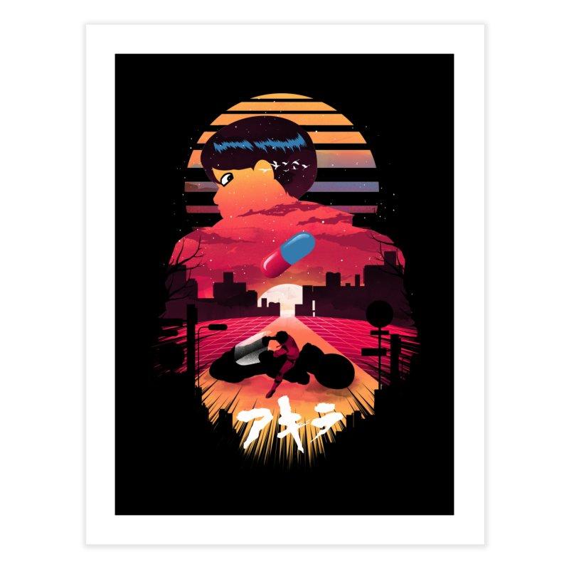 Kaneda Sunset Home Fine Art Print by dandingeroz's Artist Shop
