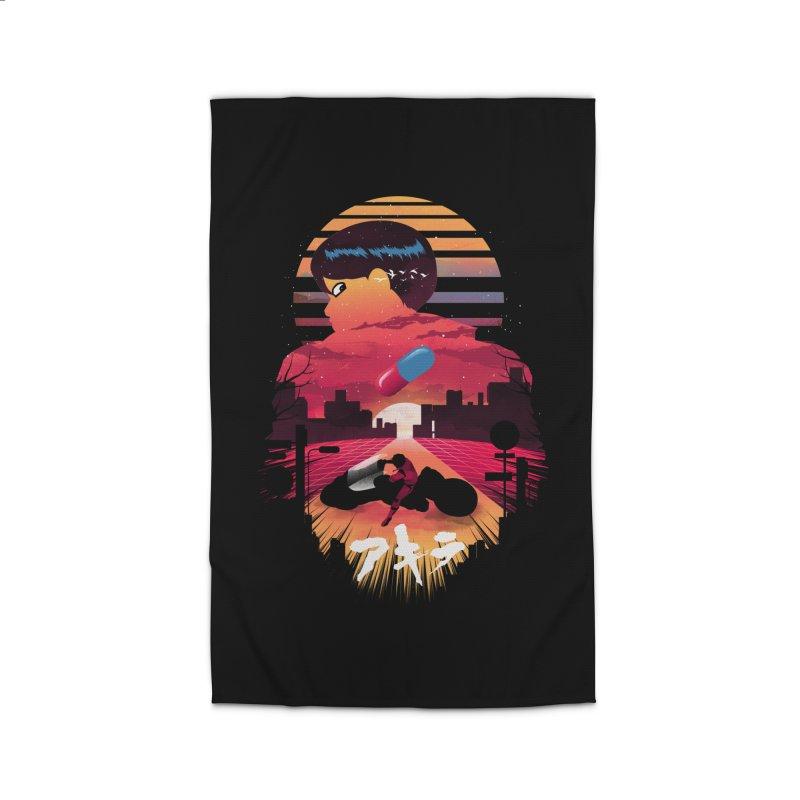 Kaneda Sunset Home Rug by dandingeroz's Artist Shop