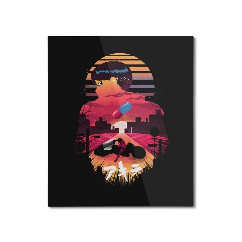 Kaneda Sunset Home Mounted Aluminum Print by dandingeroz's Artist Shop