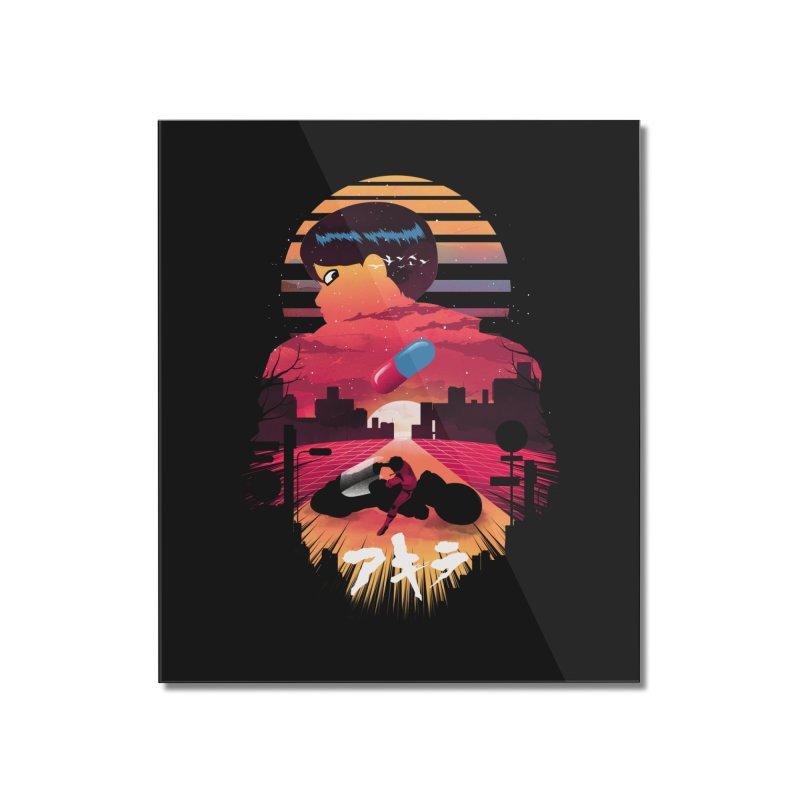 Kaneda Sunset Home Mounted Acrylic Print by dandingeroz's Artist Shop