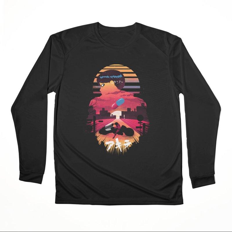 Kaneda Sunset Men's Longsleeve T-Shirt by dandingeroz's Artist Shop