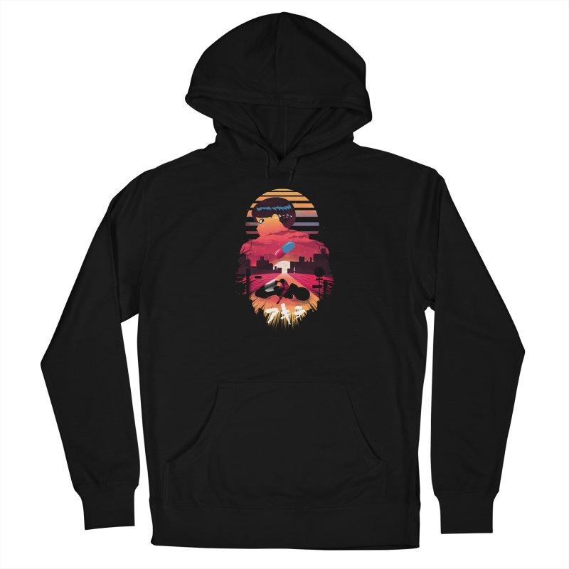 Kaneda Sunset Men's Pullover Hoody by dandingeroz's Artist Shop