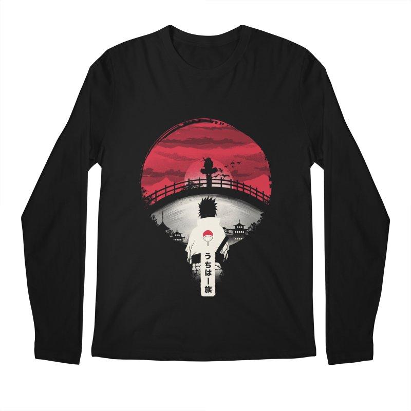 Uchiha Night Men's Longsleeve T-Shirt by dandingeroz's Artist Shop
