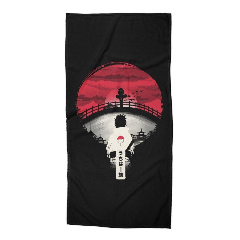 Uchiha Night Accessories Beach Towel by dandingeroz's Artist Shop