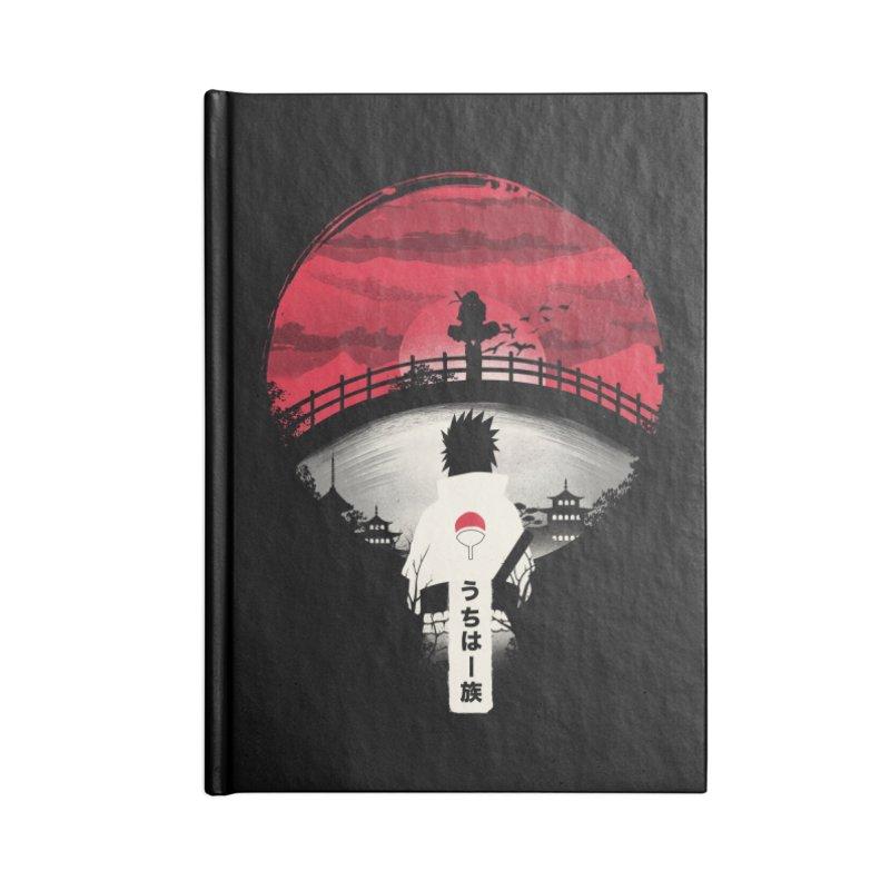Uchiha Night Accessories Notebook by dandingeroz's Artist Shop