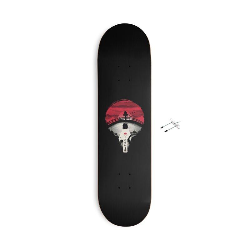 Uchiha Night Accessories Skateboard by dandingeroz's Artist Shop