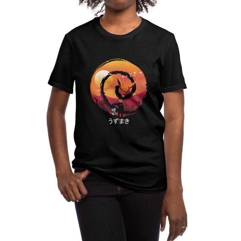 Uzumaki Night Women's T-Shirt by dandingeroz's Artist Shop