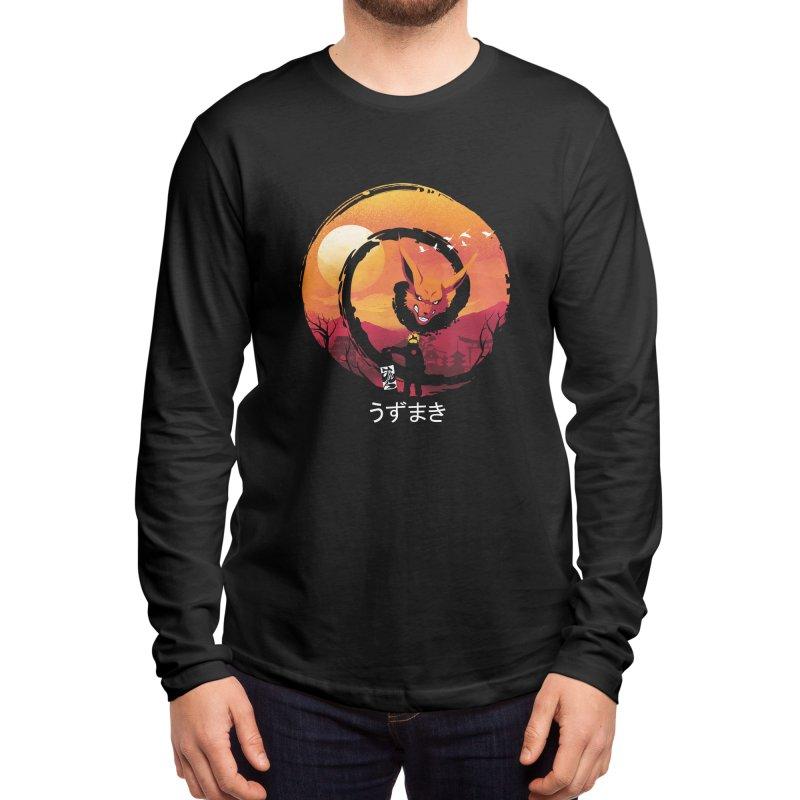 Uzumaki Night Men's Longsleeve T-Shirt by dandingeroz's Artist Shop