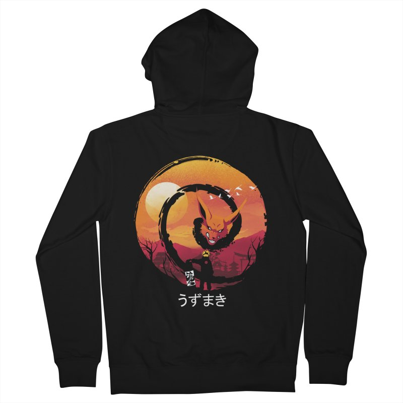 Uzumaki Night Women's Zip-Up Hoody by dandingeroz's Artist Shop