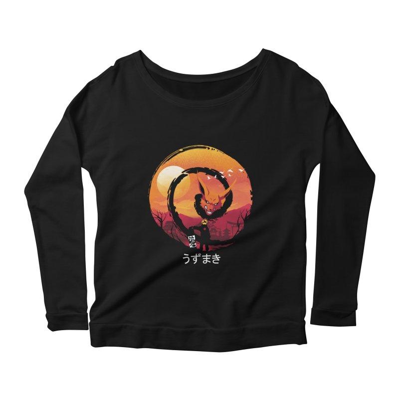 Uzumaki Night Women's Longsleeve T-Shirt by dandingeroz's Artist Shop