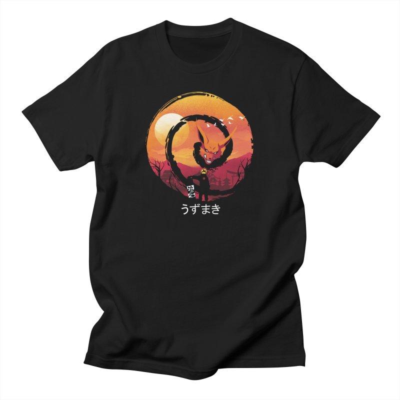 Uzumaki Night Men's T-Shirt by dandingeroz's Artist Shop