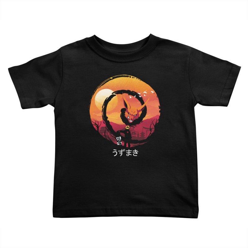 Uzumaki Night Kids Toddler T-Shirt by dandingeroz's Artist Shop
