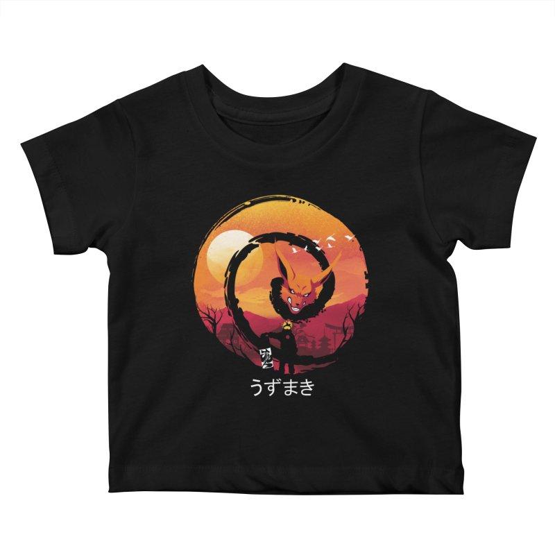 Uzumaki Night Kids Baby T-Shirt by dandingeroz's Artist Shop