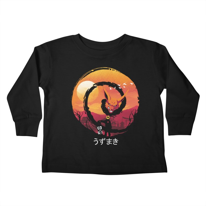 Uzumaki Night Kids Toddler Longsleeve T-Shirt by dandingeroz's Artist Shop