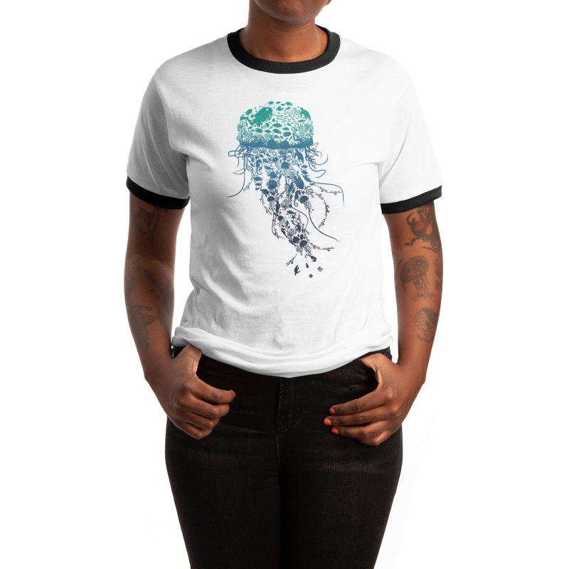 Protect the marine life Women's T-Shirt by dandingeroz's Artist Shop