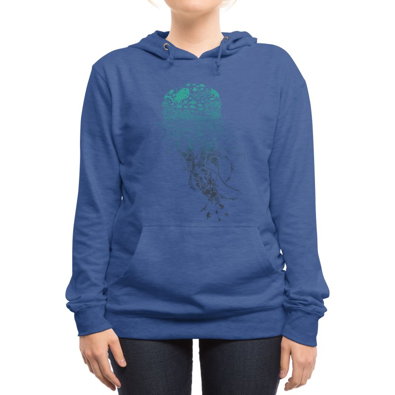 Protect the marine life Women's Pullover Hoody by dandingeroz's Artist Shop