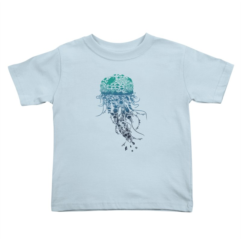 Protect the marine life Kids Toddler T-Shirt by dandingeroz's Artist Shop