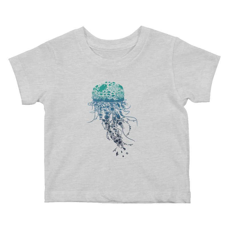 Protect the marine life Kids Baby T-Shirt by dandingeroz's Artist Shop