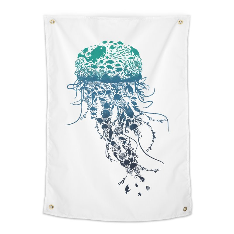 Protect the marine life Home Tapestry by dandingeroz's Artist Shop
