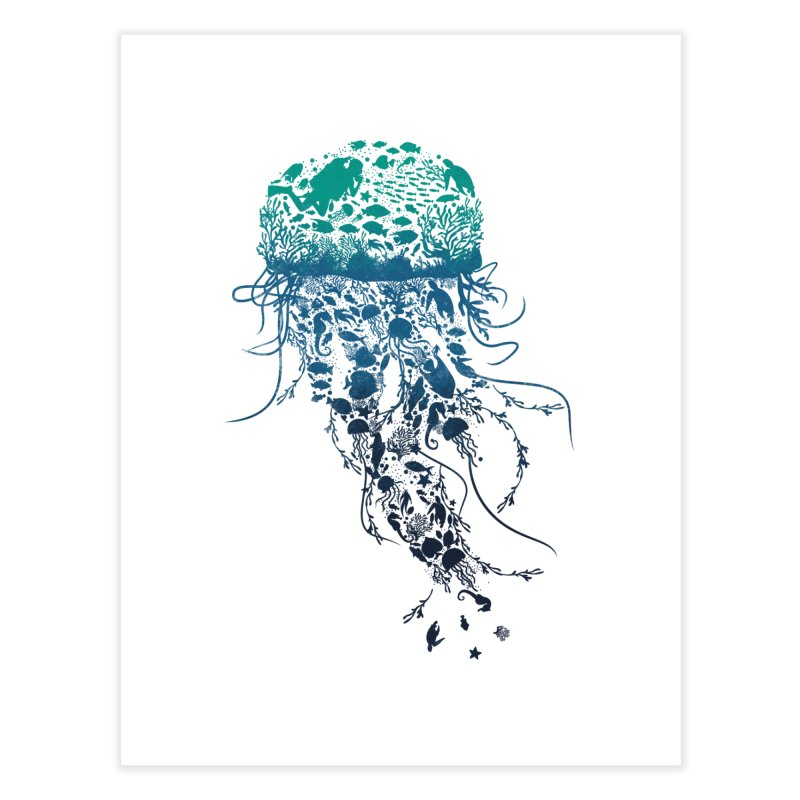 Protect the marine life Home Fine Art Print by dandingeroz's Artist Shop
