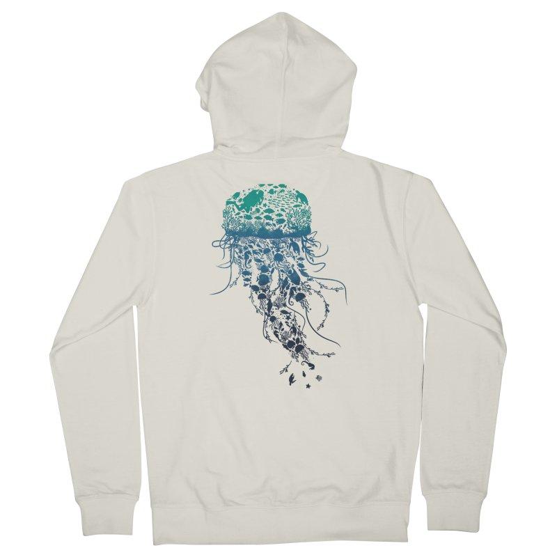 Protect the marine life Men's Zip-Up Hoody by dandingeroz's Artist Shop