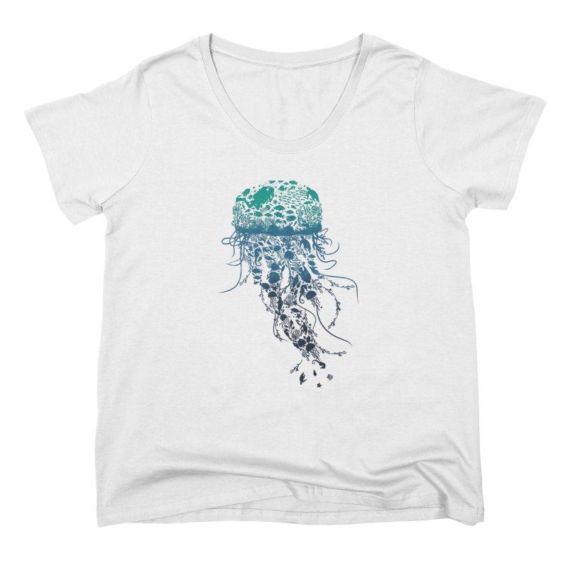 Protect the marine life Women's Scoop Neck by dandingeroz's Artist Shop