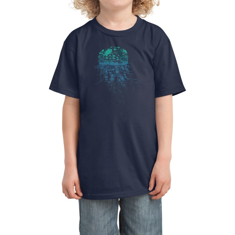 Protect the marine life Kids T-Shirt by dandingeroz's Artist Shop