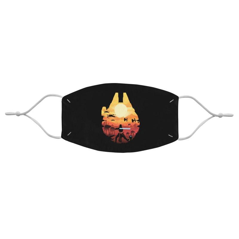 Jedi Sunset Accessories Face Mask by dandingeroz's Artist Shop